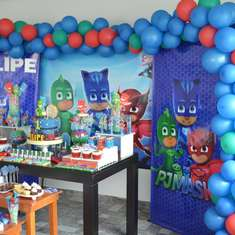Felipe's Pj Masks Birthday Party - PJ Masks