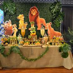 Leo's Lion King inspired 1st birthday party - Safari