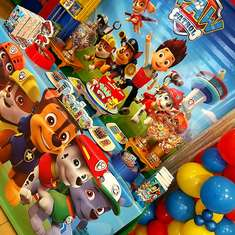 Pedro's Paw patrol 3rd birthday party - Paw Patrol