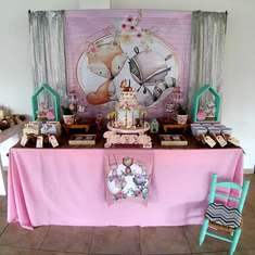 Juana's Woodland birthday party - Woodland