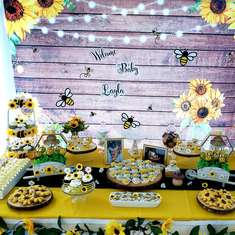 Mommy to BEE - Bumble Bee & Sunflowers