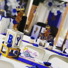 Royal's Baby Shower - Royal Prince