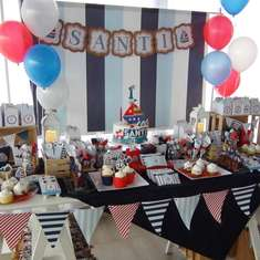Santi's Nautical birthday party - Nautical
