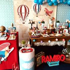 Ramiro's Vintage Travel birthday party - Travel / World / Countries