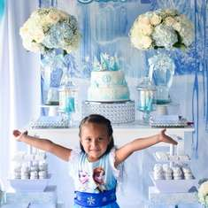 Camila's Frozen Birthday Party - Frozen