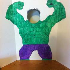 Keith's Smashing Hulk Birthday - Hulk