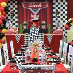 Zack's Disney Cars 2nd Birthday - Disney Cars