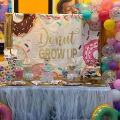Coriyah 1st Birthday Party - Donuts