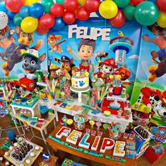Felipe's Paw Patrol birthday party - Paw Patrol