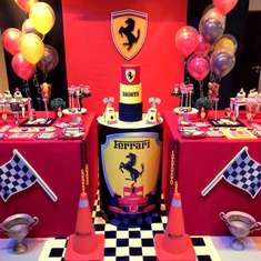 Fausto's Ferrari Birthday Party - Cars / Trucks