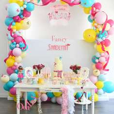Fancy Shadlynn's 5th Birthday  - Fancy Nancy