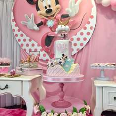 Sweety Minnie Pink Birthday Party - MINNI