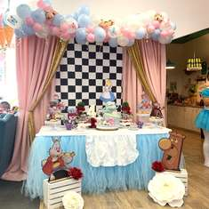 Riley's 4th Tea Party  - Alice in Wonderland
