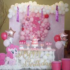 Angelina's five birthday party - Pinky Pie