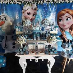 Faustino's Frozen Birthday Party - 4 years - Faustino- Frozen