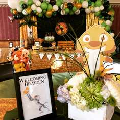 Circle of Life Baby shower - Lion King