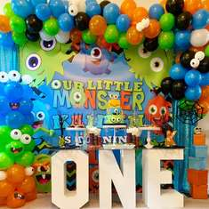 Kaiden's Little Monsters First Birthday Party  - Little Monsters Party