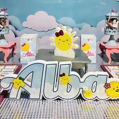 Alba's Sunshine Party - Sunshine