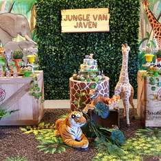 Jungle birthday party - Jungle