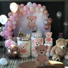 Adorable bear themed 1st birthday party  - Bear