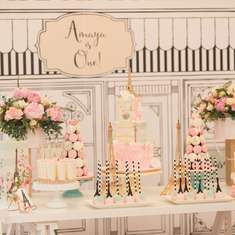 Pastel Paris Tea Party - Kids' Party