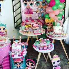 Lol Surprise Dolls birthday party - LOL  Surprise Doll Party
