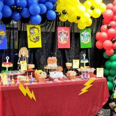 Harry Potter Dessert Table - Harry Potter