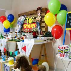 Toy Story 4 Themed Birthday Party - Toy Story