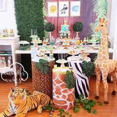 Jungle Animal Birthday Party - Animals