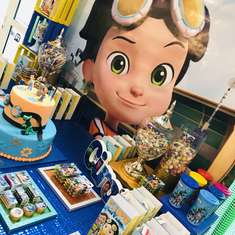 Ciro's 5th birthday party - Rusty Rivets