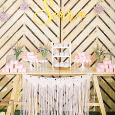 Serra's Boho Inspired 11th Birthday Party - Boho