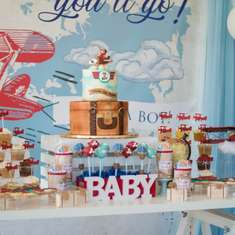 Natalia's Vintage Airplane Baby Shower - Vintage Airplane