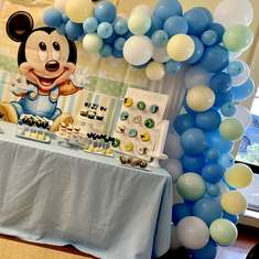 Baby Mickey 1st Birthday  - Baby Mickey