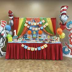 Zadiels Dr Seuss 1st Birthday  - Dr Seuss