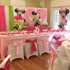 Oh Twodles ! Dha'Loni's 2nd Birthday Celebration - Minnie Mouse