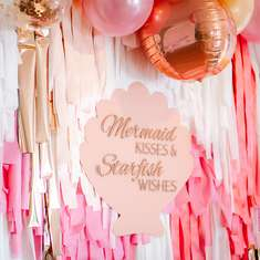 MERMAID KISSES & STARFISH WISHES - Mermaid Party