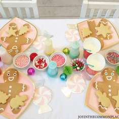 Christmas Cookie Decorating Party - Cookie Decorating