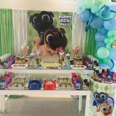 Puppy Dog birthday party - Puppy Dog pals