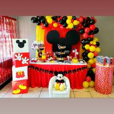 Dylan's 1st birthday  - Mickey Mouse
