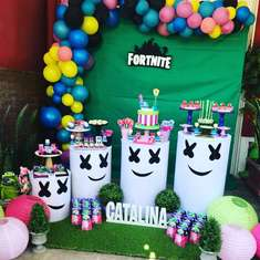 Fortnite birthday party - Fortnite para una Niña