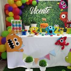 Our Little monster is 2! - Crazy Monsters