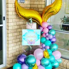 Mermaid Birthday party - Mermaid