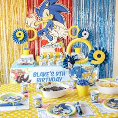Sonic The Hedgehog Party Ideas For A Boy Birthday Catch My Party