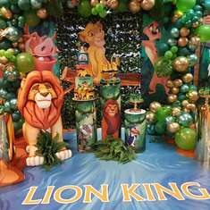 1st birthday Lion King Party - Lion king