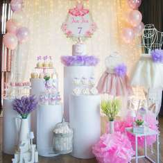 Ballerina Themed birthday party - Ballerina Theme