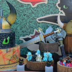 How to train your dragon birthday party - Dragons