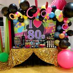 40th Birthday  - I heart the 80s