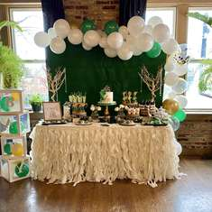 Jungle Glam Baby Shower  - Jungle Safari