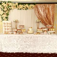 Rose Gold Bridal Shower  - Rose Gold and Florals