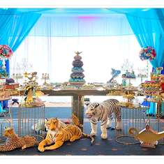 Jasmine & Aladdin Birthday Party - Jazmen